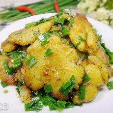 香葱炒土豆的做法