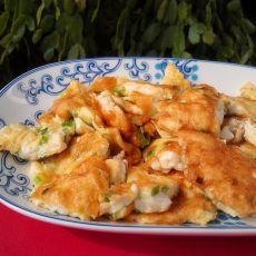 香葱豆腐煎蛋