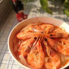 大虾炖萝卜