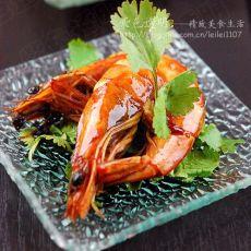 泰式甜辣吮指虾