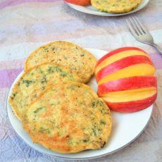 芹叶玉米饼