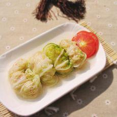 白菜虾仁卷