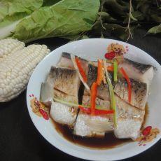 清蒸鱼块的做法