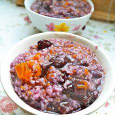 紫薯南瓜糯米饭
