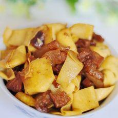 红烧肉炖豆腐扣的做法