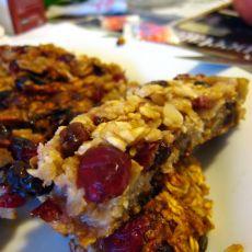 平锅版坚果蔓越莓燕麦棒