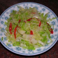 蒜蓉卷心菜的做法