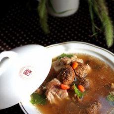 松茸排骨汤的做法