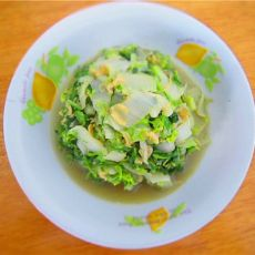虾皮白菜的做法