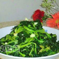蒜蓉苔菜的做法