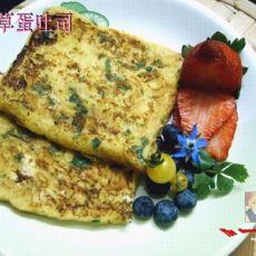 香草蛋土司