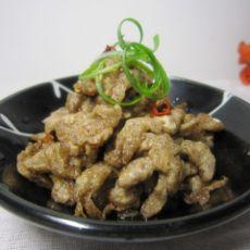 蜢子虾酱炒蛋的做法