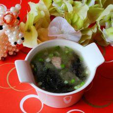 紫菜丝瓜瘦肉汤的做法