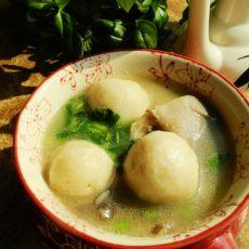 平菇鱼丸汤