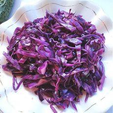 凉拌糖醋紫甘蓝的做法