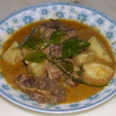 印尼椰香咖喱牛肉