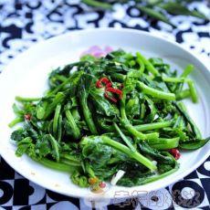 香辣油菜心―素炒青菜也下饭的小秘密