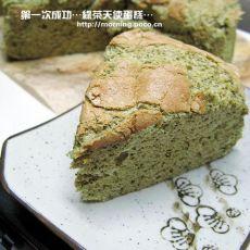 绿茶天使蛋糕的做法