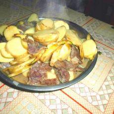 糍菇焖牛肉