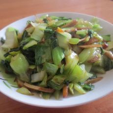 豆腐干大青菜的做法