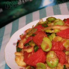 番茄炒豆瓣