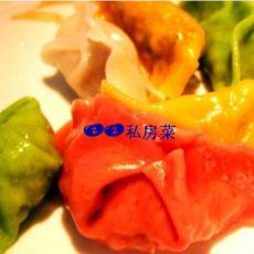 三鲜馅五色饺的做法