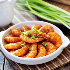 葱姜烧大虾