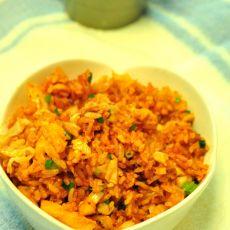 韩式辣椒酱泡菜炒饭