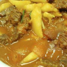 牛肉炖土豆柿子