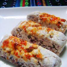 桂花赤豆糕