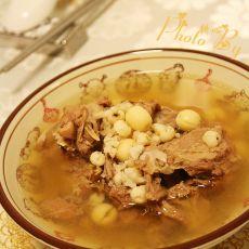 湘白莲薏米炖鸭汤