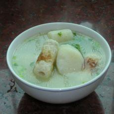 淮山竹轮猪骨汤的做法