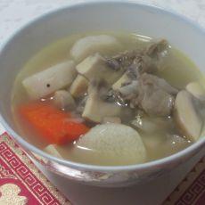 山药蘑菇羊肉汤