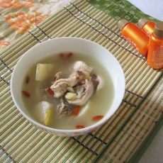 滋肾益精之山药枸杞鸡汤