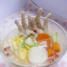 五色鸡爪汤