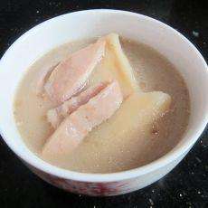 猪小肚煲淮山猪骨汤的做法
