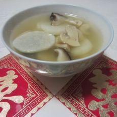 山药菌菇汤