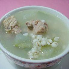 冬瓜薏米煲排骨