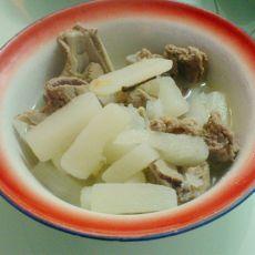 砂锅煲山药骨头汤