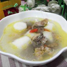 淮山构杞煲鸡汤的做法