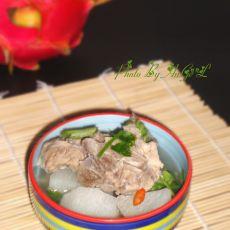 砂锅山药排骨汤