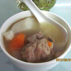 大骨山药胡萝卜汤