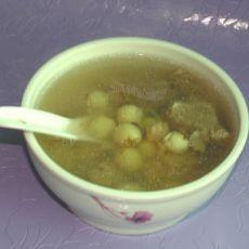 莲子干贝瘦肉汤