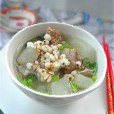 薏米冬瓜排骨汤的做法