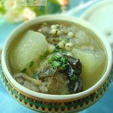 冬瓜荷叶薏米汤