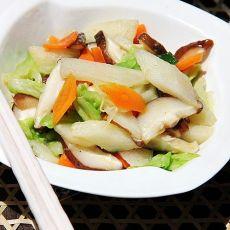营养香菇素炒