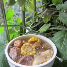 铁棍淮山栗子玉米瘦肉汤