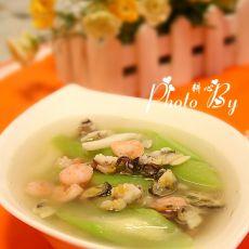 什锦海鲜丝瓜汤