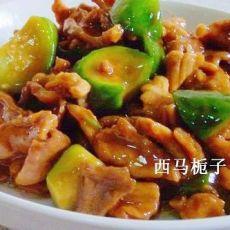 蚝油肉片丝瓜
