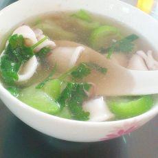 鲜美鱿鱼丝瓜汤的做法